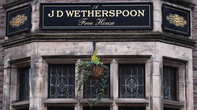 Wetherspoons pubs are currently closed