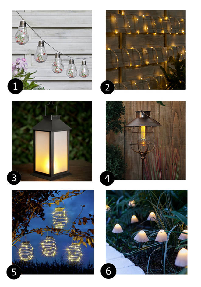 These garden lights will add something special to your outdoor space