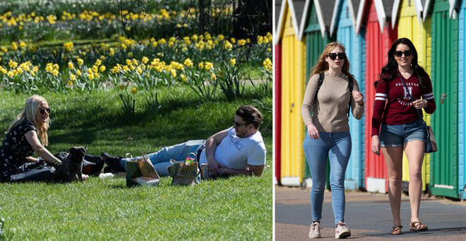 London could reach 24C today and tomorrow as the mini heatwave sets in