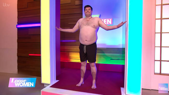 Mark Labbett had previously revealed his impressive weight loss on Loose Women