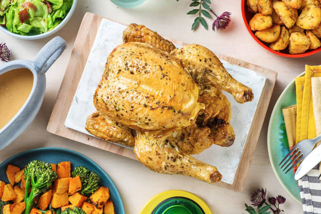 This roast chicken dinner will impress the whole family