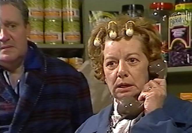 Jean Alexander played Hilda Ogden in Corrie