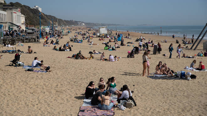 Brits are enjoying the sunshine this week
