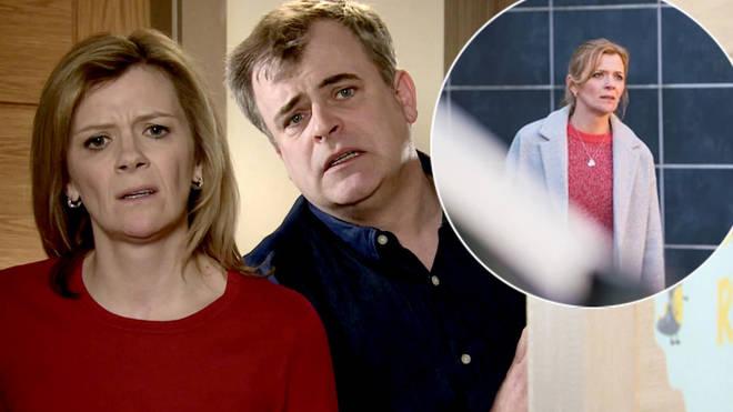 Leanne Battersby is set to flee Coronation Street