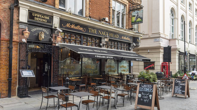 Pubs will be allowed to serve customers in England outside