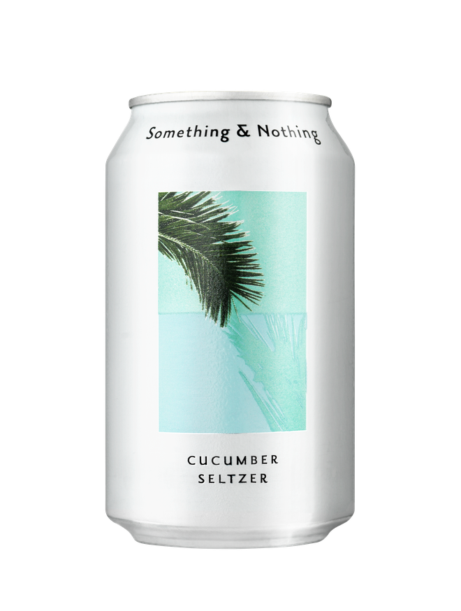 Something & Nothing's seltzers are perfect for al fresco drinking
