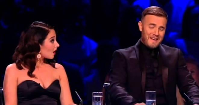 Gary Barlow on X Factor