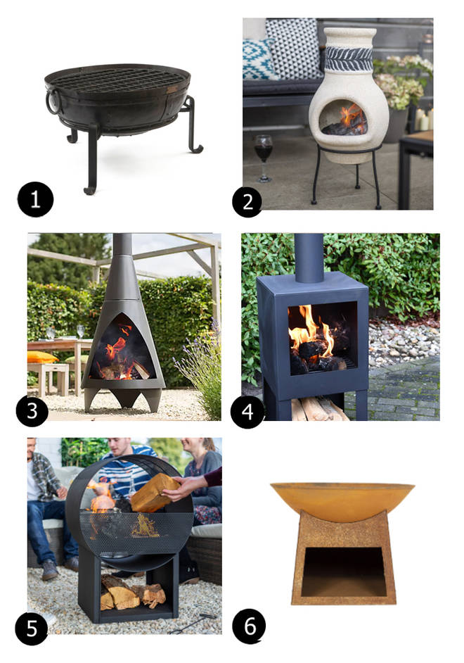 Stay warm outside with these fire-pits and chimineas