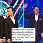 Ant and Dec have announced they've changed their name to Dec and Ant