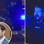 Hilarious moment Line of Duty's Martin Compston breaks character to celebrate Scotland football win