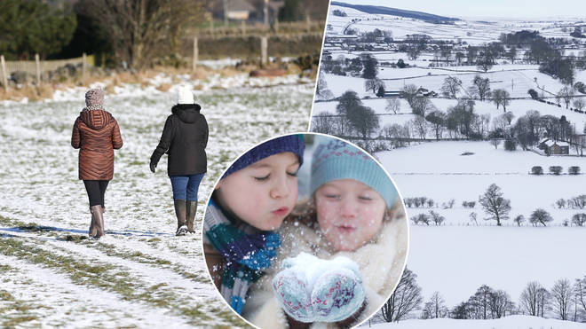 Reports suggest it might snow in the UK this weekend