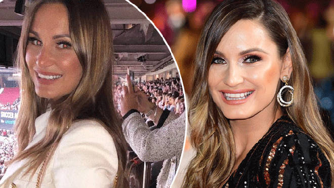 Sam Faiers in full glam on the red carpet