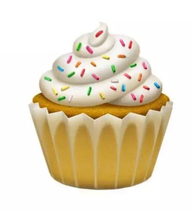 Finally a cupcake emoji!