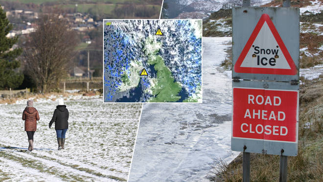 The temperatures are set to plunge this week