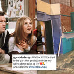 Photos of the Friends reunion set have been revealed