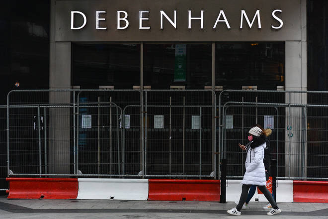 Some Debenhams stores will reopen on April 12