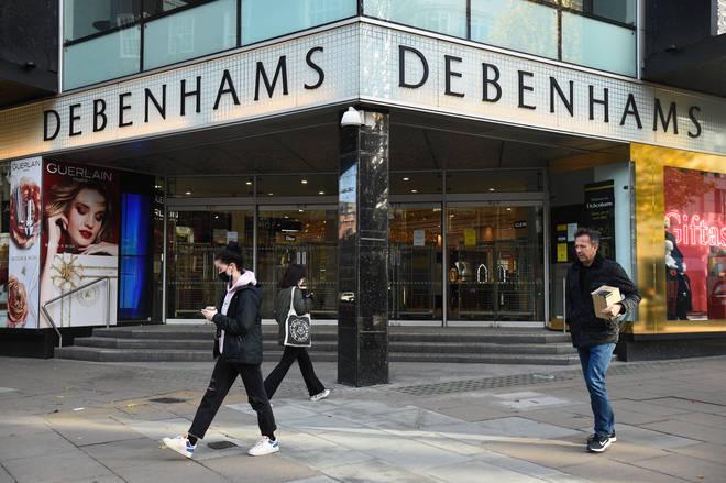The Debenhams brand has been bought by online retailer Boohoo