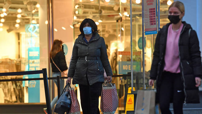 Shoppers will have to continue to wear masks indoors