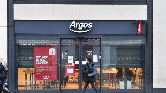 Argos will be allowed to reopen it's stores again