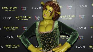 Heidi Klum transformed into Princess Fiona for Halloween 2018!