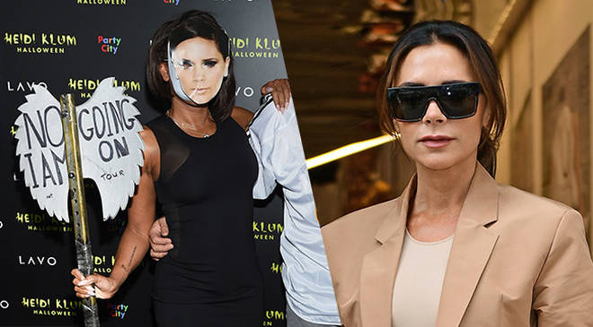 Mel B took a swipe at fellow Spice Girl Victoria Beckham for her Halloween costume
