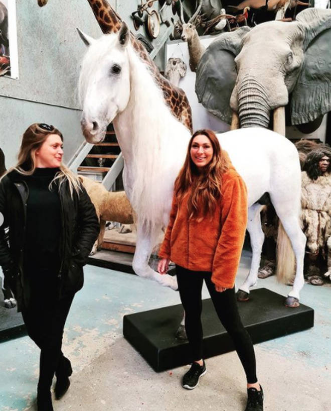 Luisa Zissman has revealed she had her beloved dead horse stuffed by a taxidermy