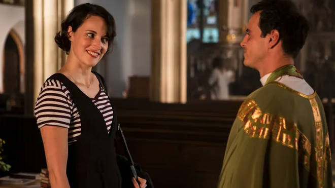 Andrew played the 'hot preist' in BBC's Fleabag