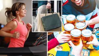 All the things you can do from today in England (stock images)