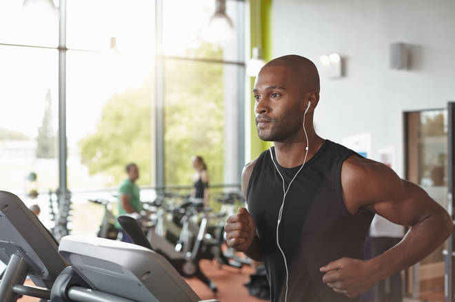 Gyms are among the businesses reopening their doors today (stock image)