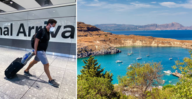 A Dutch company is taking 187 people to a resort in Rhodes (stock images)