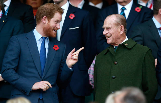 Prince Harry has travelled from LA so he can attend Prince Philip's funeral