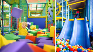 When do soft play areas open? (stock images)