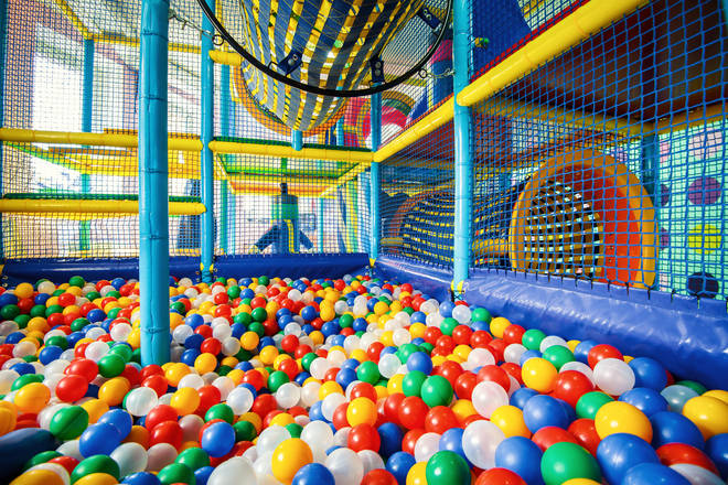 Soft play areas are currently closed in England (stock image)
