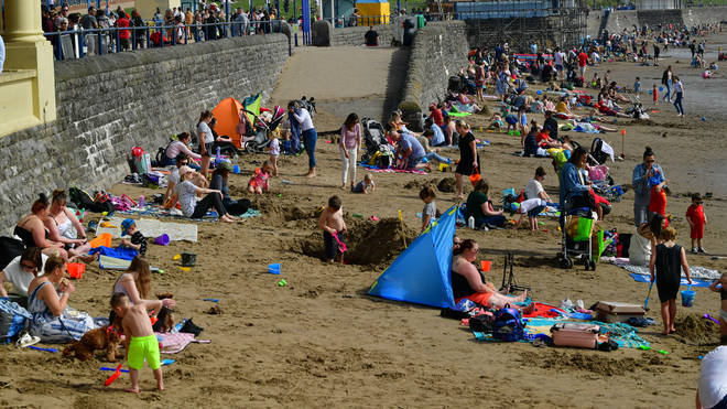 People in England are now allowed to go to Wales on holiday