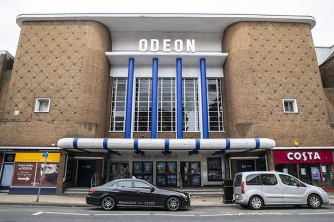 Cinemas in England are currently closed