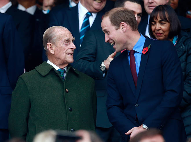 Prince William said his grandfather was an 'extraordinary man'