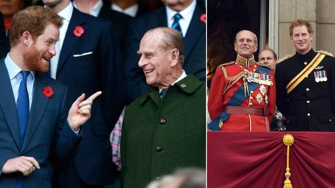 Prince Harry has released a statement about his late grandfather