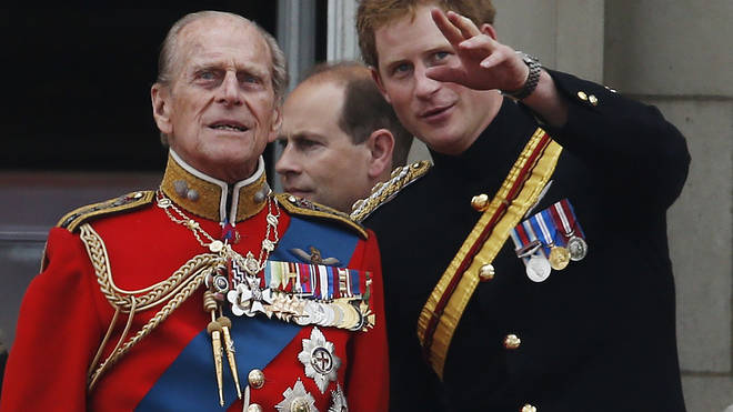 Prince Harry called his grandfather 'legend of banter'