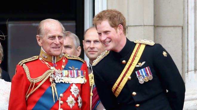 Prince Harry said he grandfather was a 'legend of banter'