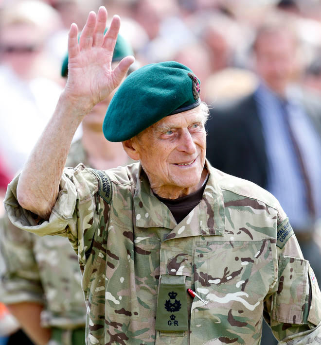 Prince Philip became the Captain General of the Royal Marines in 1953