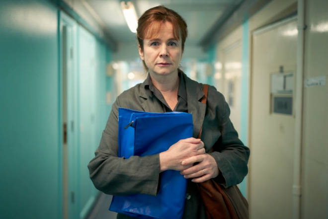 Emily Watson plays forensic psychiatrist Dr Emma Robertson in Too Close
