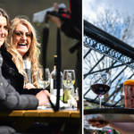 Pub garden-visitors could enjoy a mini-heatwave next week