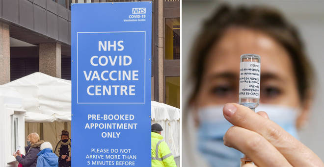 The coronavirus vaccine will now be rolled out to the over 45s