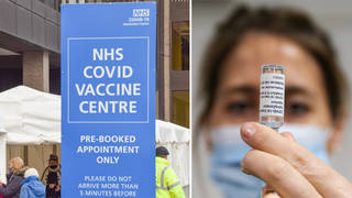 The vaccine will now be rolled out to the over 45s