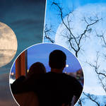 A pink supermoon will be visible this month