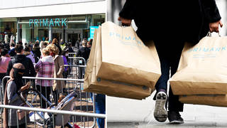 Primark stores have reopened in England and Wales