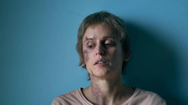 Denise Gough as Connie Mortensen in Too Close