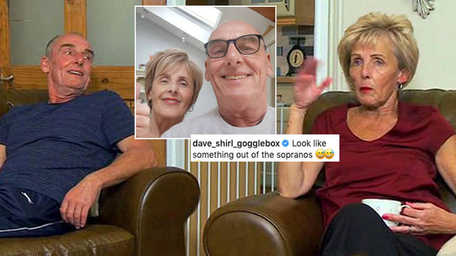 Dave and Shirley are unrecognisable in this throwback photo