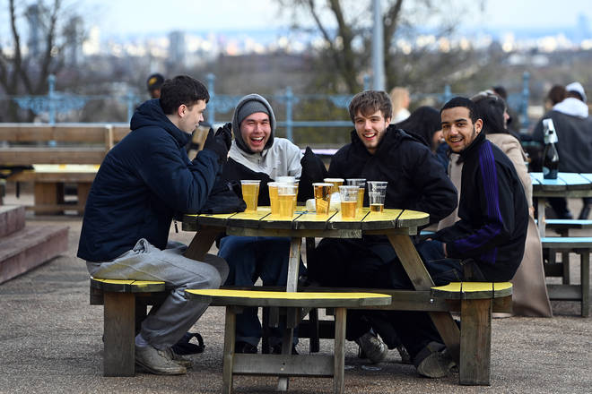 Pubs in England reopened on April 12