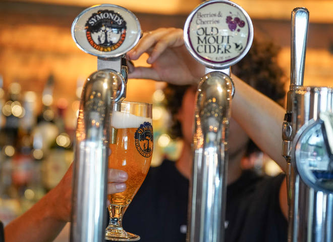 Pubs are due to reopen indoors from May 17 at the earliest